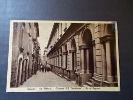 POTENZA - Via Pretoria Caserma R.R. Carabinieri M. Pagano VG. 1936 F.P.