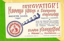 BUVARD BLOTTER  :Innovation  mecanique Nouvelle meche a couronne a MOINGT pres de MONBRISON