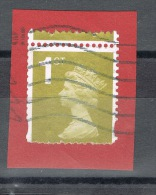 RB 1021 - GB 1st Class Machin Coil Stamp With Perforation Error - Errors, Freaks & Oddities (EFOs