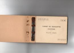 Carnet De Silhouettes D Avions  France  URSS  Grande Bretagne  USA  1950  Et Helicopteres - Politique & Défense