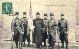 MZREG- 31 - 37e Régiment D´Infanterie - Le Drapeau - Regimientos