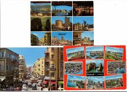 LIBAN - LOT DE 6 CPSM