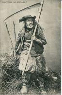 N°4084A -cpa Nos Vieux De Bretagne- - Farmers