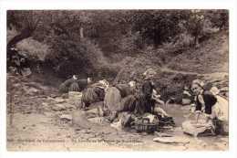 Cpa Environs De Concarneau (29) Un Lavoir De La Vallee De Saint Jean - Cpa29 - Concarneau