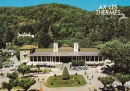 AX Les THERMES : Le Casino Et Les Jardins (animée, Voitures, ...) - Ax Les Thermes