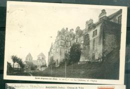 Saint Aignan Sur Cher - Le Chateau Et L'église  - Fax40 - Saint Aignan