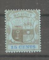 Sello Nº 128 Mauritius - Mauricio (...-1967)