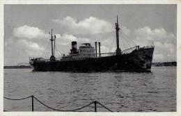 "BATEAU ALLEMAND / GERMAN SHIP : M. S. "" SOFIA "" - DEUTSCHE LEVANTE LINIE - ANNÉE / YEAR ~ 1930 (r-777) - Cargos"