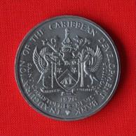 SAINT CHRISTOPHER AND NEVIS 4 DOLARES 1970 - Monedas & Billetes