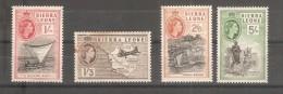 Sellos  Nº  188/91 Sierra Leone - Sierra Leona (...-1960)