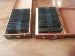 89 PLAQUES DE VERRE STEREO BOXE CARPENTIER DESCAMPS LENS DEMPSEY USA PAOLINO LA GUERCHE BUFFALO FREE SHIPPING REGISTERED - Diapositivas De Vidrio
