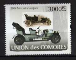 Comoros.Lot - 8 Stamps. MNH.  Transport. Trains.locomotive.ships.automotive.plane. ( 8 Scans ) - Comores (1975-...)