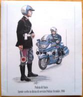 UNIFORMI STORICHE POLIZIA DI STATO - AGENTE SCELTO POLIZIA STRADALE, 1986 - Estampas & Grabados