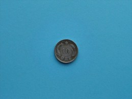 1891 CS - 10 Ore / KM 795.1 ( Uncleaned Coin - For Grade, Please See Photo ) !! - Danemark