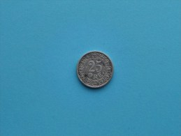 1911 VBP GJ - 25 Ore / KM 808 ( Uncleaned Coin - For Grade, Please See Photo ) !! - Denmark