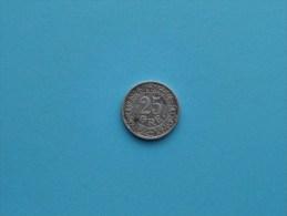 1911 VBP GJ - 25 Ore / KM 808 ( Uncleaned Coin - For Grade, Please See Photo ) !! - Dänemark