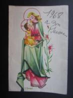 CALENDRIER (M1503) BASILIQUE NOTRE-DAME De BON-SECOURS (2 Vues) Illustrateur M. AMSENS - Petit Format : 1961-70