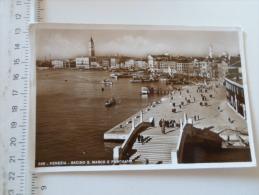 Italia  -  Venezia  -Bacino S.Marco E Panorama -    Vera Fotografia  RPPC     D127074 - Venezia