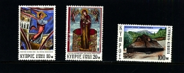 CYPRUS - 1973  CHRISTMAS   SET  MINT NH - Chypre (République)