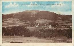 Haute Savoie - Ref- U 300 - Vue Generale De Villard Sur Boege Depuis Burdignia Et Miribel - Carte Bon Etat - - Andere Gemeenten