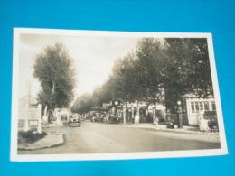 """78) Trappes - Carte Photo - N° 1110.10.38 - La Fourche """" Les Postes D'essence -  Année 1938 - EDIT - Rancé - Trappes"""