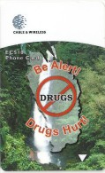 Dominica - Be Alert! Drugs Hurt!, 272CDMA, 1998, 20.000ex, Used - Dominica