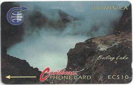 Dominica - Boiling Lake, 3CDMA, 1990, 35.000ex, Used - Dominica