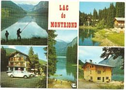 CPM FRANCE 74 HAUTE-SAVOIE MONTRIOND - Le Lac De Montriond - Multivues - Zonder Classificatie