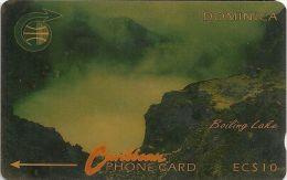 Dominica - Boiling Lake, 4CDMA, 1990, 37.227ex, Used - Dominica