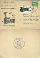 20. Pieschener Hafenfest, 11.6.83, Sonderkarte Der DDR - Eisenbahnen