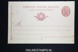 Italy: Cartolina Postal  SA 28 F (900)  Unused