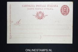 Italy: Cartolina Postal  SA 28 C Unused