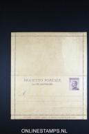 Italy: Biglietto Postale 1923  K20  Unused - 1900-44 Victor Emmanuel III.