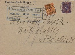 Germany; Infla Cover Dec. 12, 1922 - Lettres & Documents