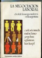 """""""LA NEGOCIACIÓN LABORAL"""" TOMADA, BISIO, Y OTROS- EDIT.PENSAMIENTO JURIDICO- AÑO 1988- PAG.112- USADO-GECKO. - Livres, BD, Revues"""