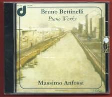MASSIMO ANFOSSI BRUNO BETTINELLI - Piano Works - NUOVO ORIGINALE E SIGILLATO - Klassik