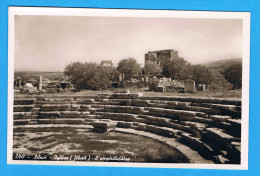 CPSM Lebanon - Byblos  (Jbeil) The Amphitheater - Liban Amphith�atre