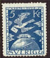 UPU -  SWEDEN  SCHWEDEN SUEDE 1924  MI 173 MH (*) - UPU (Universal Postal Union)