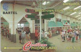 Barbados - Bridgetown Cruise Terminal, 88CBDD, 1996, 23.500ex, Used - Barbades