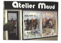 CPM - LIMOGES (87) ATELIER MAUD (magasin Création Maud MAZEAUD Rue Raspail) - Limoges