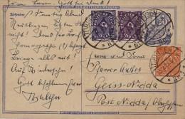 Germany; Infla Postal Card Feb. 23, 1923 - Alemania