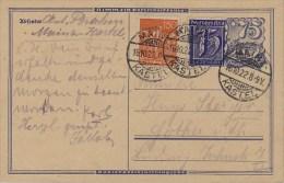 Germany; Infla Postal Card Oct. 16, 1922 - Allemagne