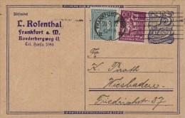 Germany; Infla Postal Card Sept. 20, 1922 - Allemagne