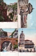 Cpa  Ronda ( Andalousie )  , Lot De 4 Belles Cpa Colorisee - Almería