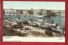 EU-03 Stockholm Harbour. Ships, Not Used - Suède