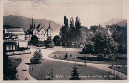 Vevey, Jardin Du Rivageet Château De L'Aile (6116) - VD Vaud