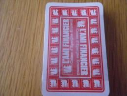 jeu de 32 cartes � jouer - banque CAISSE D'EPARGNE - �cureuil