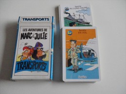 jeu de 7 familles -  TRANSPORTS - MARC ET JULIE