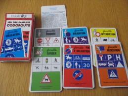 jeu des familles - CODOROUTE - PREVENTION ROUTIERE - CODE DE LA ROUTE