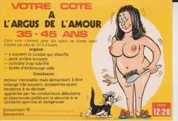 Votre Cote A L'argus De L'amour 35 - 45 Ans - Humour